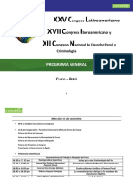 Programa - Congreso Latinoamericano