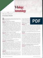 Los 10 Mitos de La Hematologia