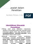 04-PKTI Masalah Dalam Penelitian