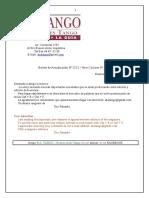 Boletín de Actualización B.A. TANGO - Buenos Aires Tango Nº 222-1