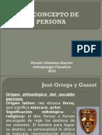El Concepto de Persona(1)