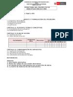 UNMSM Ciclo II Proyecto Estructura e Instrumento 2014 Noviembre 13