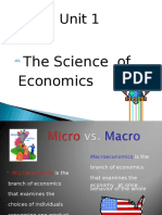 unit 1 the science of economics