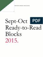 ACDA 2015 Sept Oct Ready to Read Blocks