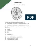 Biochem 2005 Exam 1