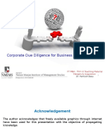 TM 1- M&a - Corporate Due Diligence