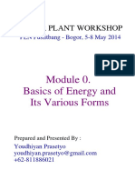 Module 0 - Basics of Energy & Its Various Forms