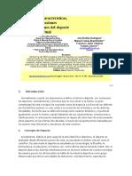 Concepto, Características, Orientaciones Del Deporte Actual