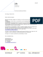 Brief Uitvoering Bonbox Af