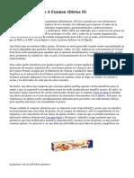 La Dieta Sin Gluten A Examen (Dietas II)