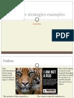 Persuasive Strategies Examples