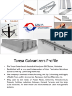 Tanya Galvanizers a Noted Name in the Hot Dip Galvanizing