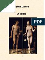 La Genèse Franck Lozac'h
