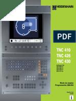 3 Programación DIN ISO TNC 410