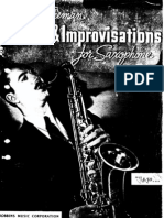 Studies and Improvisations for Sax - Bud Freeman