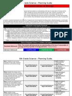 6th grade quarter 3 planning guide  coe