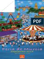 Program a Feria Murcia 2015
