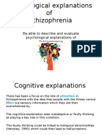 psychological explanations of