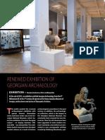 Renewed Exhibition of Georgian Archaeology