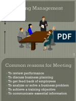 How to Conduct Meeting Effectively