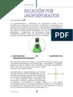 Intoxicacion Por Organofosforados