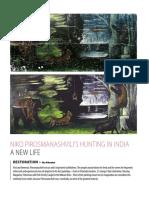 Niko Pirosmanashvili's Hunting in India - A New Life