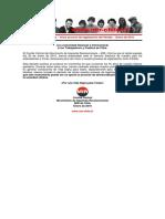Declaración Pública – Inicio Proceso de Legalización Del Partido – Enero de 2016