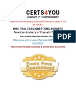 AACD Practice Questions