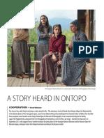 A Story Heard in Ontopo