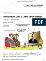 Previdência_ Lula e Dilma Estão Certos! — Conversa Afiada