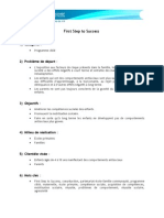 First Step to Success (version française)