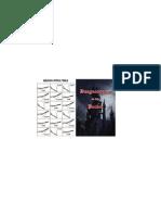 Booklet - Front & Back (Variant)