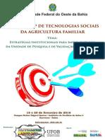Workshop de Tecnologias Sociais - Barreiras, Bahia