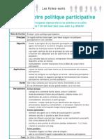 Evaluer Votre Politique Participative