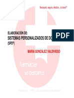 Taller Sistemas Personalizados Dosificacion