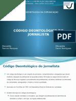 Código Deontológico Do Jornalista