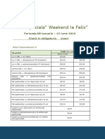 Baile Felix-Oferta Weekend 2016
