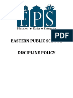 discipline policy final oct 2015