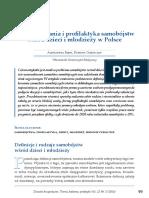 Babik a Olejniczak d 2014 Uwarunkowania i Profilaktyka Samobojstw Wsrod