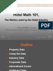 Hotel Math 101