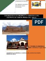 Diagnóstico Económico y Turístico Del Distrito de Santa María Del Vall1