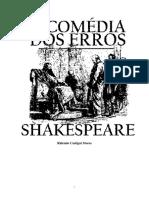Shakespeare a Comedia Dos Erros