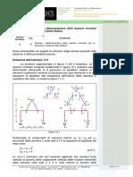 12_Esempi Di Determinazione Delle Reazioni Vincolari Con Le Equazioni Della Statica