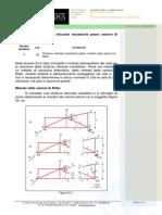 25_Strutture Reticolari Isostatiche Piane, Sezioni Di Ritter