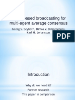 Event-based broadcasting for multi-agent average consensus.pdf