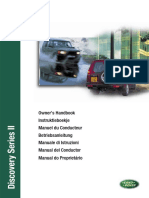 Discovery 2 MY01 - Manual Del Conductor