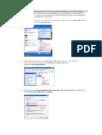 Cómo Configurar La Dirección IP Si Se Usa Un Enrutador o Conmutador