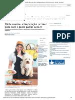 Dieta Caseira_ Alimentação Natural Para Cães e Gatos Ganha Espaço _ Vida _ Acritica