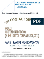 Independent Director as per Companies Act 2013