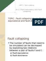 Falut Collapsing
